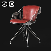 The Wire Dining Chair was the first piece in the Wire