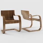 Suderland Continous Line Lounge Chair Design By Shelton Mindel