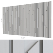 Декоративная стена 156.