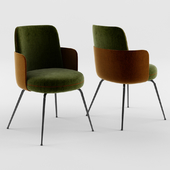 Wittmann Merwyn Chair with Armrests