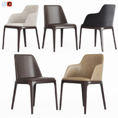 Poliform Grace Dinning Chair Set