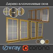 Wood - aluminum windows, view 04 part 01 set 02