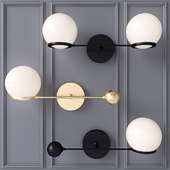 O&G CONTRAPESSO LED SINGLE SCONCE