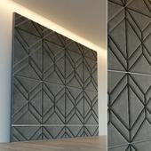 Декоративная стена. Мягкая панель. 29