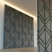 Декоративная стена. Мягкая панель. 30