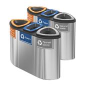 Контейнеры для раздельного сбора мусора Bermuda Triple