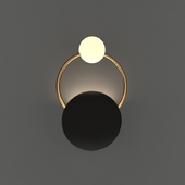 Ring Gold Wall Light