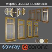 Wood - aluminum windows, view 04 part 01 set 03