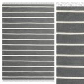 Carpet CarpetVista Dhurrie Stripe - Gray CVD19171