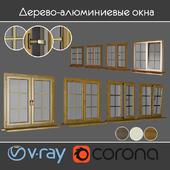 Wood - aluminum windows, view 04 part 01 set 05