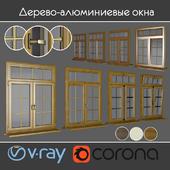 Wood - aluminum windows, view 04 part 01 set 07
