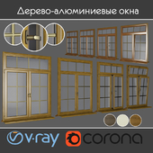 Wood - aluminum windows, view 04 part 01 set 08