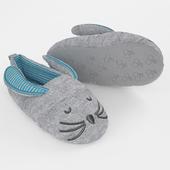 Slippers rabbit halluci