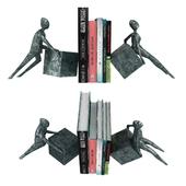 Gardeco ANTE & RETRO CYBUS Bronze bookend 3d model