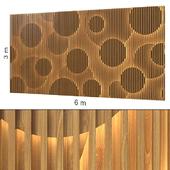 Декоративная стена 157.