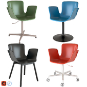 Juli Chairs Plastic by Cappellini