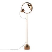 Kare Floor Lamp Reflector Brass