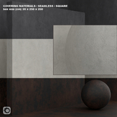 Material (seamless) - concrete plaster set 96