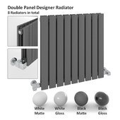 Double Panel Radiator - Milano Alpha Radiator