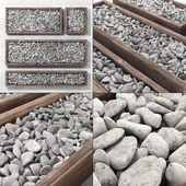 Pebble frame / Pebble in forms