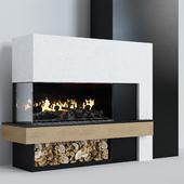 Modern fireplace 7
