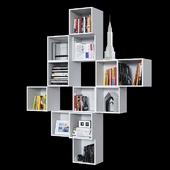 Комбинация настенных шкафов IKEA Экет.