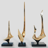 DENIS MITCHELL SCULPTURE SET 3
