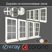 Wood - aluminum windows, view 05 part 01 set 02