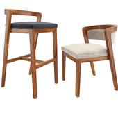 Venus Bar Stool And Dining Chair