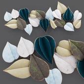 Decorative panel Leaves