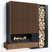 Modern fireplace 8