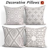 Decorative pillows set 253 SLOW COW