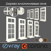 Wood - aluminum windows, view 05 part 01 set 03