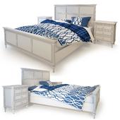 Кровать двуспальная Riverdi . The Werby
