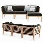 Milton Outdoor Modular Sofa