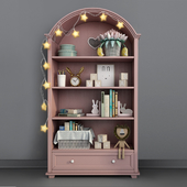 Children's furniture Adelina from Russian brand Shelf 03