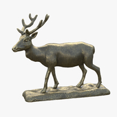 "Sculpture ""Deer"" v 2"