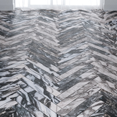 Abstract Gray Marble Tiles in 2 types