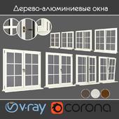 Wood - aluminum windows, view 05 part 01 set 06