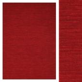 Carpet Carpet Vista Kilim loom - Dark Red CVD8712
