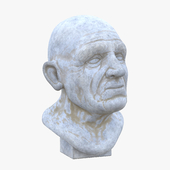 Sculpture - male head 2 v_2