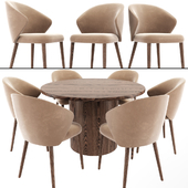 Ellen Astele Dining Table Chair