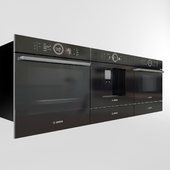 Bosch built in oven_coffee_microwave