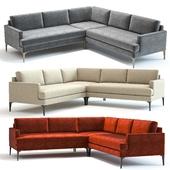 West Elm Andes L-Shaped Sofa