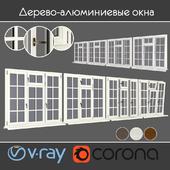 Wood - aluminum windows, view 05 part 01 set 10