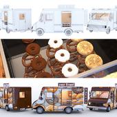 Киоск - грузовик пекарня Chevy Step Van