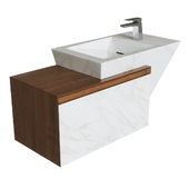 Zen bathroom basin by L'Antic Colonial - PORCELANOSA Group