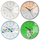 Warmhouse Wall Clock 4 pieces