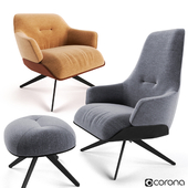 Molteni Kensington Armchairs Set