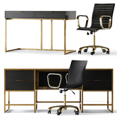 Crate and Barrel Oxford Home Office